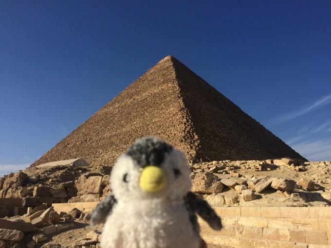 ピラミッドおおおおー!