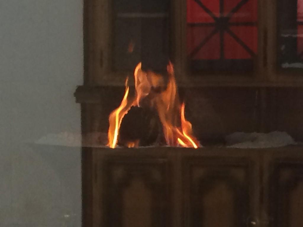 1,500年以上燃え続けている火