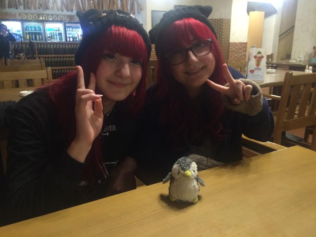 シンキングターイム!日本の文化が大好きな現地の人たちとパシャリ!