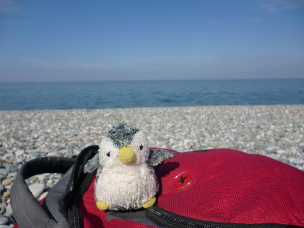 バトゥミの黒海沿い