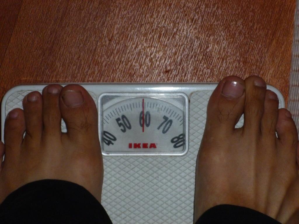旅に出て5ヶ月で70kgから60kgに減量しました!