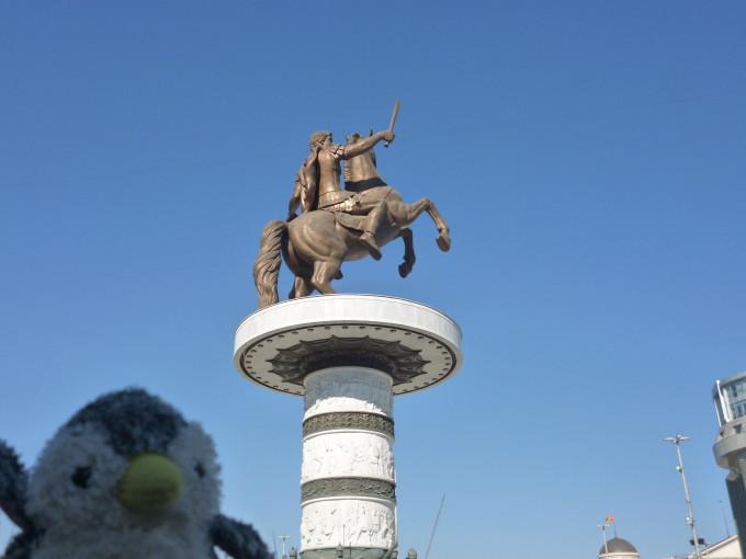 アレクサンドロス大王!でも出身地は現在のギリシャ…。