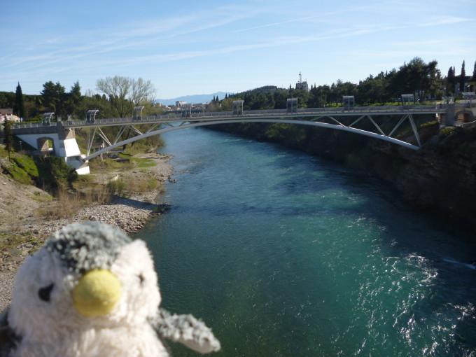 モンテネグロの首都ポドゴリツァに流れる川!