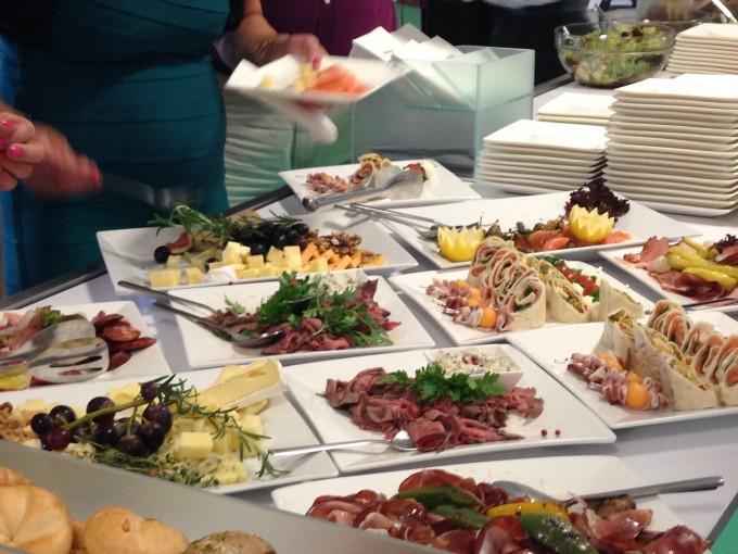 Food_at_a_buffet_in_the_Pan-European_University,_Bratislava,_Slovakia_-_20140723-01