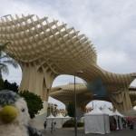 世界最大の木造建築!スペイン南部セビリアのメトロポール・パラソル!