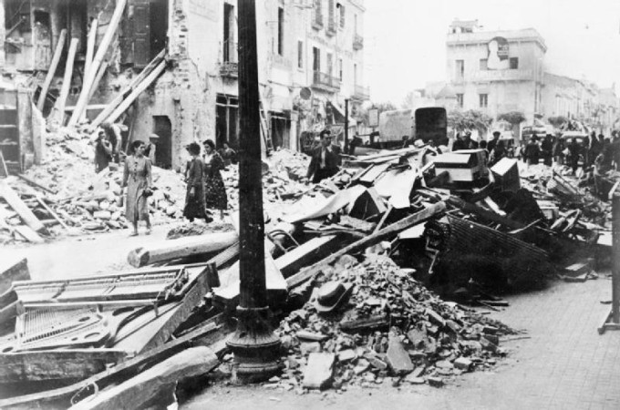 The_destruction_wrought_on_Granollers_after_raid