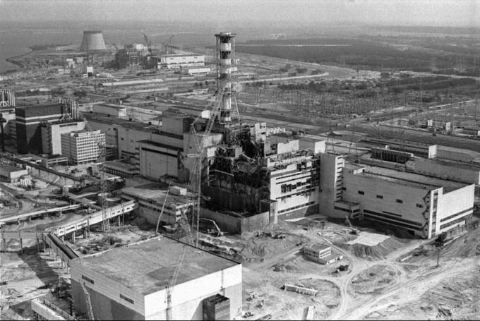 チェルノブイリ原子力発電所の写真