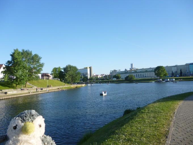 意外と首都ミンスクは自然がいっぱい!