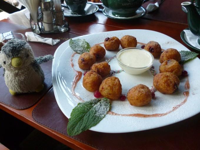 ベラルーシは主にポテトを使った料理を食べるよ!
