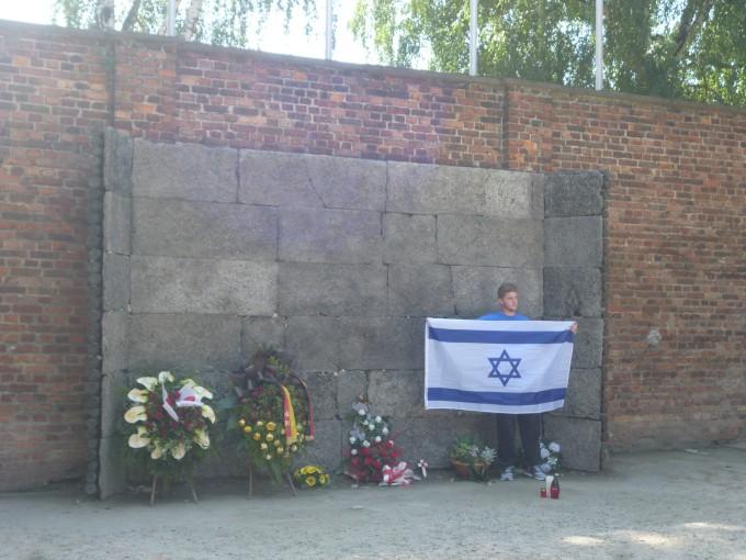 ここでユダヤ人は銃殺された