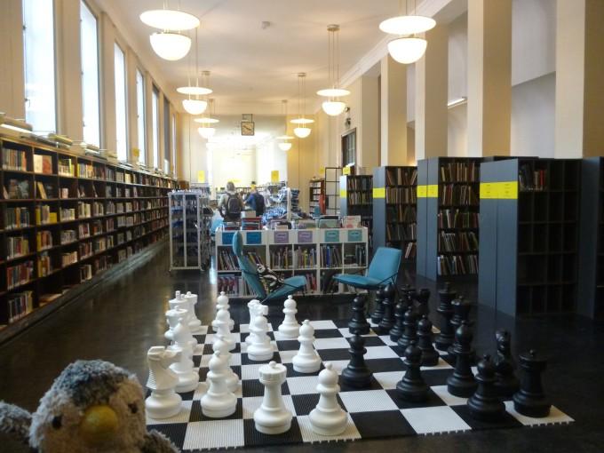 ノルウェーにある図書館!
