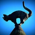 ラトビアの首都リガを屋根から見守る猫ちゃん!観光してみよう!