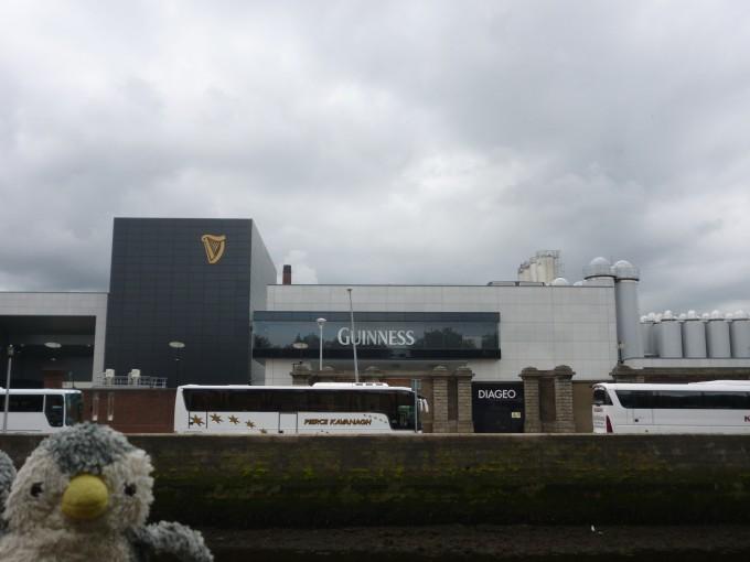 ダブリンにあるギネスビールの工場だよ!