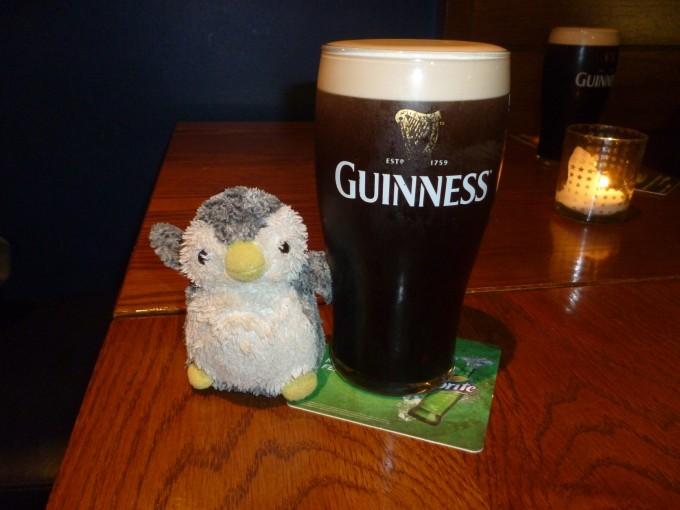 きました、ギネスビール!!