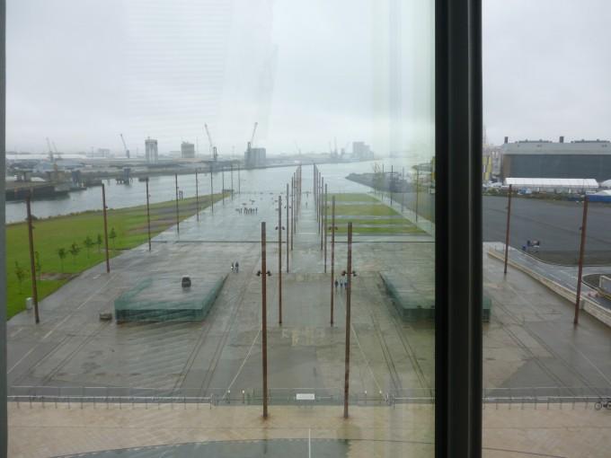 この場所が実際にタイタニック号が造船された場所!