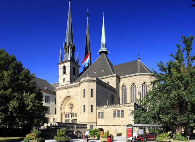 Notre Dame katedrális Luxembourg