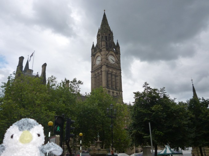 博物館とは関係ないけど、マンチェスターにもロンドンと同じく時計台があるんだね!