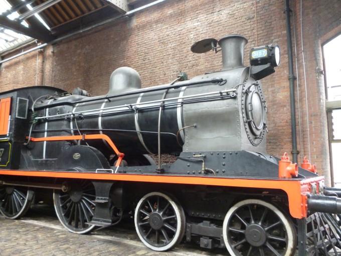 当時使われていた蒸気機関車!
