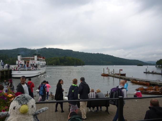 ウィンダミア湖!