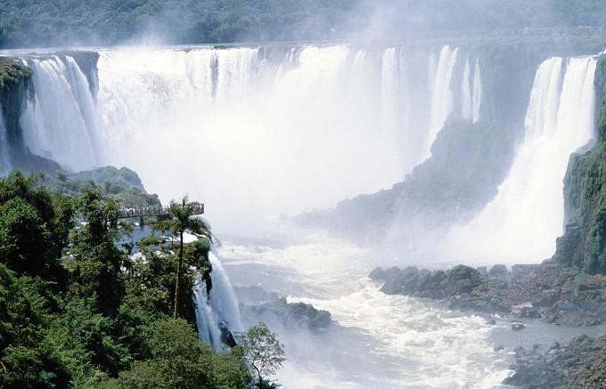 WasserfŠlle von Iguacu, Paraguay/Brasilien